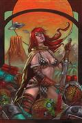 Mars Attacks Red Sonja #1 50 Copy Strati Virgin Incv