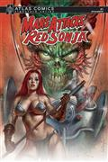Mars Attacks Red Sonja #1 Layman Sgn Atlas Ed (C: 0-1-2)