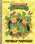 TMNT-TOTALLY-TURTLES-LITTLE-GOLDEN-BOOK-(C-1-1-0)