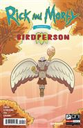 Rick & Morty Presents Birdperson #1 Cvr A Stressing