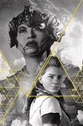 Horizon Zero Dawn #1 Cvr J Artgerm Gold Ink 100 Copy Inc