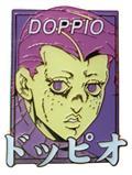 Jojos Bizarre Adventure Vinegar Doppio Pastel Pin (C: 1-1-2)