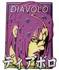 Jojos Bizarre Adventure Diavolo Pastel Pin (C: 1-1-2)