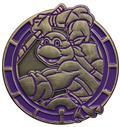 TMNT Donatello Antique Gold Numbered Pin (C: 1-1-2)