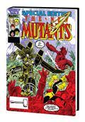 New Mutants Omnibus HC Vol 02 Art Adams Dm Var