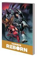 Heroes Reborn America Mightiest Hero Companion TP Vol 02