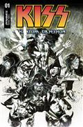 Kiss Phantom Obsession #1 Cvr H 20 Copy Incv Sayger Line Art