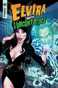Elvira Meets Vincent Price #1 Cvr C Royle