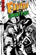 Elvira Meets Vincent Price #1 Cvr G 20 Copy Incv Royle Line