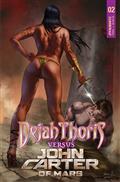 Dejah Thoris vs John Carter of Mars #2 Cvr A Parrillo