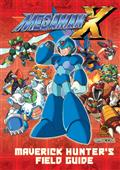 MEGA-MAN-X-MAVERICK-HUNTERS-FIELD-GUIDE-HC-(C-0-1-2)