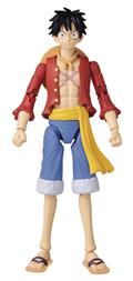 Anime Heroes One Piece Monkey D Luffy 6.5 In AF (Net) (C: 1-