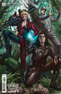 Batman #111 Cvr C Lucio Parrillo The Suicide Squad Movie Card Stock Var