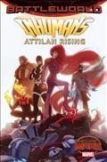 Inhumans Attilan Rising #1 Forbes Promo Var