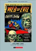 Pre Code Classics Web of Evil HC Vol 01 (C: 0-1-0) *Special Discount*