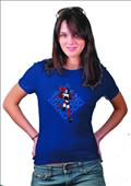 Harley Quinn Bang By Conner Womens T/S Lg (C: 1-1-0)
