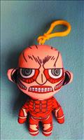 Attack On Titan Chibi Colossal Titan Plush Backpack Clip On