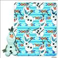 Frozen Olaf Hugger Plush W/Fleece Throw (C: 1-1-2)