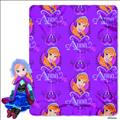 Frozen Anna Hugger Plush W/Fleece Throw (C: 1-1-2)