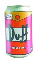 Simpsons Duff Energy Drink 24 Ct Case (Net) (O/A) (C: 1-1-1)