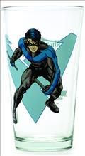 Toon Tumblers Nightwing Clear Pint Glass (Oct132220) (C: 1-1