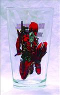 Toon Tumblers Deadpool Pint Glass (Jun112037) (C: 1-1-2)