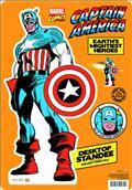 Marvel Heroes Classic Captain America Desktop Standee (C: 1-