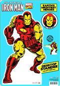 Marvel Heroes Classic Iron Man Desktop Standee (C: 1-1-2)
