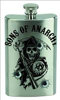 Sons of Anarchy Logo Flask (C: 1-1-1)
