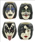 Kiss Molded Mug 4Pk Set (C: 1-1-2)