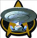 Star Trek Tng Enterprise D Magnet (C: 1-1-2)