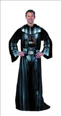Darth Vader Comfy Throw Fleece Blanket W/Sleeves (C: 1-1-2)