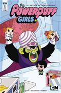 Powerpuff Girls Time Tie #1 (of 3) Subscription Var