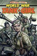 Tank Girl World War Tank Girl #4 (of 4) Cvr B Wahl (MR)