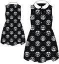 Gotg V2 Symbol Starry Pattern B&W Collar Dress Lg (Net) (C: