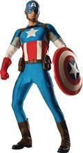 Grand Heritage Captain America Adult Costume Std (Net) (C: 1