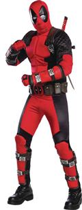 Grand Heritage Deadpool Adult Costume Std (Net) (C: 1-0-2)