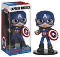 Marvel Heroes Captain America Wobbler Vinyl Figure (C: 1-1-2