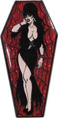Elvira Red Coffin Lapel Pin (C: 1-0-2)