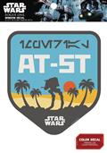 Star Wars At-At On Scarif Badge Window Decal (C: 1-1-0)