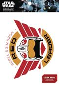 Star Wars Red Leader Wings Rebel Squadron Window Decal (C: 1