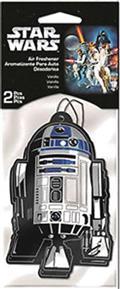 Sw R2d2 2Pk Vanilla Air Freshener 24Pc Bag (Net) (C: 1-1-2)