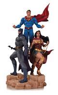 DC Designer Ser Trinity By Jason Fabok Statue
