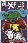 X-Files Case Files Florida Man #2 Cvr A Nodet