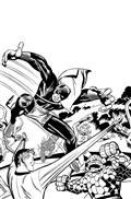 Black Panther #1 Kirby B&W Remastered Var