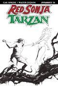 Red Sonja Tarzan #1 Cvr I 40 Copy Lee B&W Incv (Net)