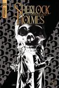 Sherlock Holmes Vanishing Man #1 Cvr C 20 Copy Cassaday B&W