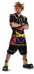 Kingdom Hearts Sora Dlx Costume Adult Med (38-40) (Net) (C: