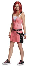 Kingdom Hearts Kairi Dlx Costume Adult Med (8-10) (Net) (C: