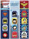 DC Comics 12 Piece Magnet Bookmark Asst (Net) (C: 1-1-0)